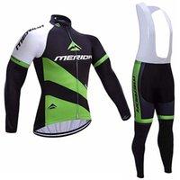 Merida Team Cycling Maniche a maniche lunghe Maglia traspirante e rapida Essiccazione professionale Polyesterfabric Fashion Accetta Personalizzazione Soft può essere Mesh Z40717