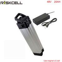 батарея велосипеда 48v 20ah ebike электрическая для мотора 48V bafang / 8fun 1000w 750w с алюминиевым случаем для клетки LG