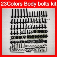 Kuipbouten Volledige schroefkit voor Kawasaki ZX6R 09 10 11 12 ZX-6R 6 R ZX 6R 2009 2010 2011 2012 Body Nuts Schroeven Moer Bolt Kit 25 Kleuren