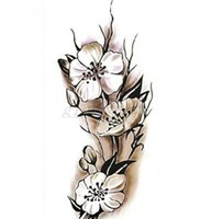 Sexy Women Temporary Tattoo Plum Blossom Waterproof Tattoo S...