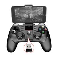 Ny PG 9076 Batman Gaming Bluetooth 2.4G Wireless Controller Gamepad Joystick för PS3 Android Phone Tablet PC Laptop