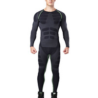 Yuerlian RU Domestic Lieferung Compression Trainingsanzug Fitness Tight Running Demix Legging Schwarz Gym Sport Anzug Herren Sportswear