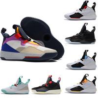Yeni Tasarımcı Ayakkabı 33 s PE Basketbol Ayakkabıları Guo Ailun Uçuş Gelecek Mens Koşu Atletik Ayakkabı Lüks Teknoloji Paketi Spor Sneakers