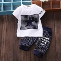 baby boy clothes Brand summer kids clothes sets t- shirt+ pant...