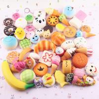 Yaratıcılık squishies oyuncaklar Hamburger Dondurma squishy pamuk şeker yavaş squishy paketi squeeze oyuncak çocuk hediye ile kokulu Ücretsiz Ship02