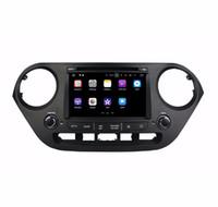"2 ГБ оперативной памяти Quad core 2 din 7 "" Android 7.1 DVD-плеер автомобиля для Hyundai I10 2014 2015 с GPS радио Bluetooth WIFI 16 ГБ ROM USB DVR"