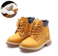 Kids Autumn Winter walking shoes Children genuine leather Ma...