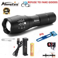 AloneFire E17 G700 XM- L T6 5000LM Bicycle Zoomable CREE LED ...