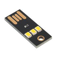 ミニUSB電源LEDライト超低消費電力2835チップポケットカードランプポータブルナイトキャンプ送料無料
