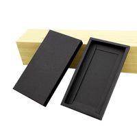 100 шт Популярные Лучшие качества Трудные Бумажная коробка для случая телефона Kraft Paper Упаковка для универсального мобильного телефона крышка с бесплатной доставкой