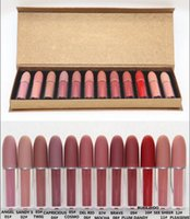 New Arrival Makeup Matte Lipstick 12 Colors Lip Gloss Angel ...
