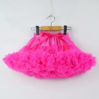 패션 아기 소녀 투투 스커트 공주 패티 스커트 발레 댄스 투투 스커트 어린이 파티 의상 0-8 Ys Chlidren