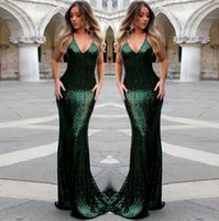 Sparkly Sexy Sequined Prom Gowns Spaghetti Sleeveless Evening Dresses Back Zipper Floor-Length Custom Made Formal Party Gowns