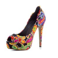 Designer Women Heels Shoes Designer Luxury Women Shoes Designer Slides Fashion Luxury Gradient Women Shoes Superstar Peep Toe Pumps