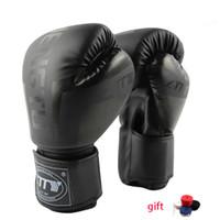 Gants de boxe Muay Thai Entraînement Maya Peau Cuir Sac de boxe Sparring Mitaines kickboxing Combat