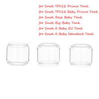 Genişletilmiş Ampul Yağ Smok TFV8 Bebek için Yedek Cam Tüp X büyük Bebek Canavar TFV12 Prens Bebek Resa Vape Kalem 22 Tankı Atomizer
