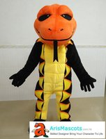 100% real photos Lovely Snake mascot suit costume animal mas...