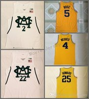 Männer Michigan State Spartans College Jersey näht 2 Jaren Jackson Jr. 22 Meilen Brücken 4 Chris Webber 5 Jalen Rose University Shirt