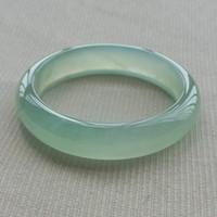 Eisarten von natürlichen hellgrünen Jade-Armband für Frauen authentische Farbe Jadeit Quarzit Jade exquisite Mode Armbänder