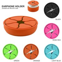 Silicone Mini Earphone Holder Rubber Winder Case Stretch Win...
