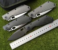 ST outdoor gear SMF Folder manico in titanio lama D2 Rondelle di rame tattico pieghevole coltello da caccia sopravvivenza coltelli EDC strumenti di autodifesa