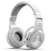 Bluedio H + سماعات الرأس اللاسلكية Bluetooth 4.1 سماعات الرأس الاستريو الاستريو المدمج في الميكروفون غير اليدوي للمكالمات تدفق الموسيقى