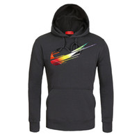 Fashion Mens Prinetd Hoodies Slim Fit Cotton Sweatshirt 7 Co...