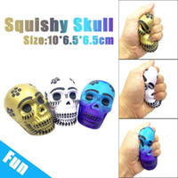 Exquisite Fun Galaxy Skull Squishies Toy Cute Kawaii Slow Ri...