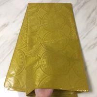 Bazin Riche Getzner Jacquard Stoff Wasin Guinea Brocade Stoff 5 Meter billig Afrikanische China Tissu für Kleidung Neueste 2018