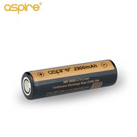 Authentic Aspire Bateria 18650 Vape celular 2900mAh 20A para aspirar vape mods ecigs INR 18650 3.7V Li-ion recarregável 100% Original