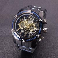 8200876155f Calidad Gran dial Relógio invicta Reserve Dial pequeño trabajo al aire  libre reloj de los hombres