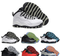 Basketball Shoes Mens Womens Black 10s X Im Back Nyc Nickel ...