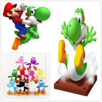 Hot ! 10pcs Lot Super Mario Bros Plush Dolls Stuffed Animals...
