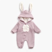 Best selling autumn and winter baby jumpsuit baby hooded jum...