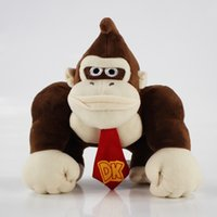 20CM 8inch Super Mario Bros Plush Toy Donkey Kong Stuffed Pl...