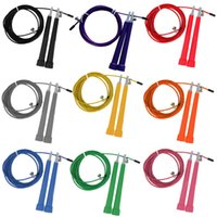 9 Colors steel Wire Skipping Skip Adjustable Jump Rope Cross...