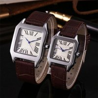 A piece lot Fashion Luxury Man Women leather Watch Famous de...