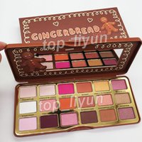 New Gingerbread Spice eye shadow palette 18 colors sweet pea...