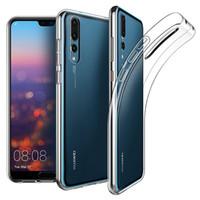 Ultra Slim Soft TPU Funda de goma transparente de silicona para Huawei P30 Pro P20 Lite Mate 30 20 X 10 Nova 5i Y9 Y6 P Smart Anti-knock