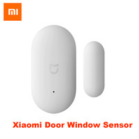 Barato Smart Remote Control 100% Xiaomi Door Window Sensor Tamaño de bolsillo xiaomi Smart Home Kits Sistema de alarma funciona con Gateway mijia mi home