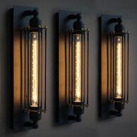 Лофт старинные настенные светильники американский промышленный настенный светильник Edison T30 E27 кровать освещение глаз фонарь бра огни украшения дома освещение