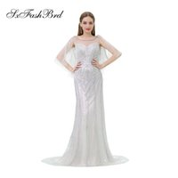 Elegant Girls Dress O Neck Open Back Mermaid Bling Beading T...
