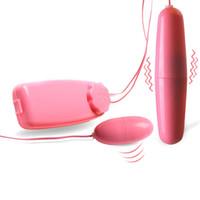 Sex leksak för kvinnor singel dubbelhopp ägg kula vibratorer clitoral g spot stimulate maskin vuxen spel par erotiska flört leksaker s1017