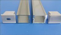 LIVRAISON GRATUITE Coût Petite taille Lumière 11mm Large Large Extrusion Profilé en aluminium LED Channel