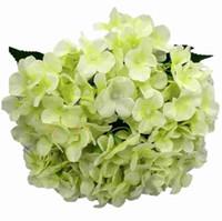Künstliche Blumen Seide Gefälschte Blumenstrauß Künstliche Hortensien Home Hochzeit Geburtstag Floral Decor kostenloser Versand