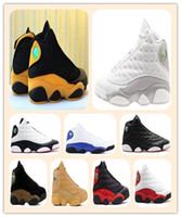 13 Melo De volta à escola Fantasma He Got Game 2018 HYPER ROYAL Olive Bordéus Chicago criados Basketball Shoes 13s Trigo Sports calçados Men Athletic