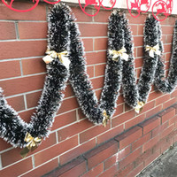 200cm DIY Christmas Garland Bar Tops Ribbon Home Decoration ...