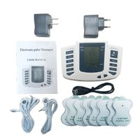 16pads Electrical Stimulator Full Body Relax Muscle Therapy ...