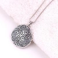 Norse 3 Kurt Celtic Triskele Triskelion Kolye 925 Ayar Gümüş Enerji Muska Yılan Zincir Kolye Kolye