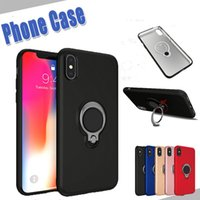 For iPhone X 8 6s 7 5 Phone TPU Case Cover Luxury Kickstand ...